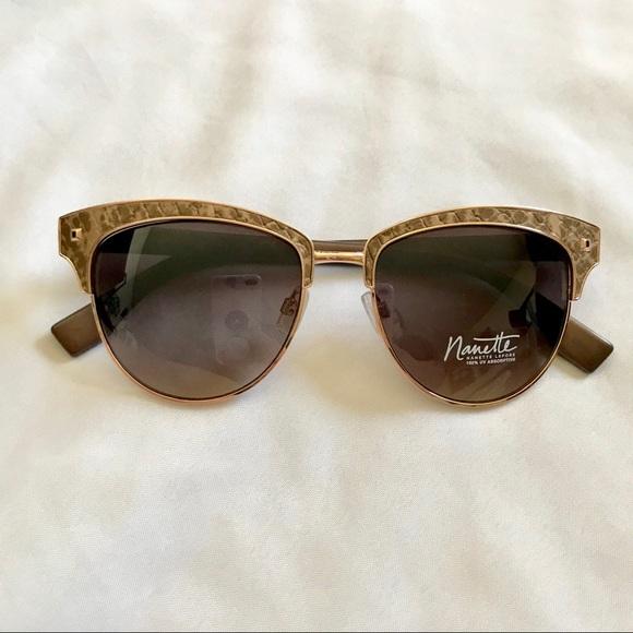 68169d2d2f2 New Nanette Lepore Textured Women s Sunglasses. M 5a8de3893800c576215cd52a